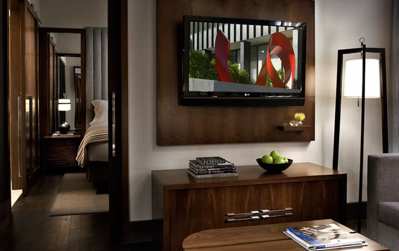Luxury Modern Hospitality Boutique Interior Design Eventi Hotel New York  City Executive Suite Furniture