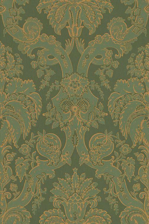 Little Venice Olive Wallpaper By Zoffany Olive Green Wallpaper Victorian Wallpaper Zoffany Wallpaper
