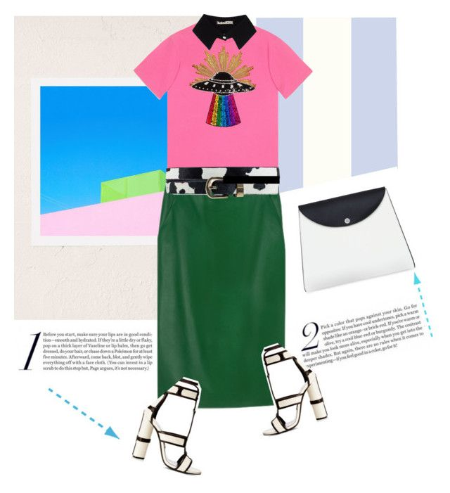 """""""Color Block Shock!"""" by pattykake ❤ liked on Polyvore featuring C.Nicol, George Byrne, agnès b., Gucci, Rut&Circle, Tom Ford and Marni"""