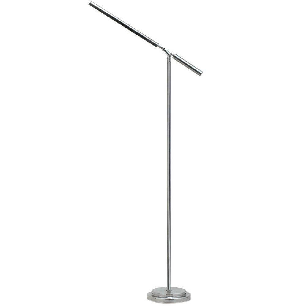 Ottlite 56 In Matte Silver Floor Lamp Silver Floor Lamp Floor Lamp Lighting