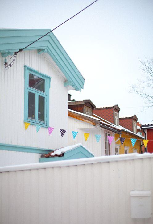Colorful winter Oslo | Fine Little Day