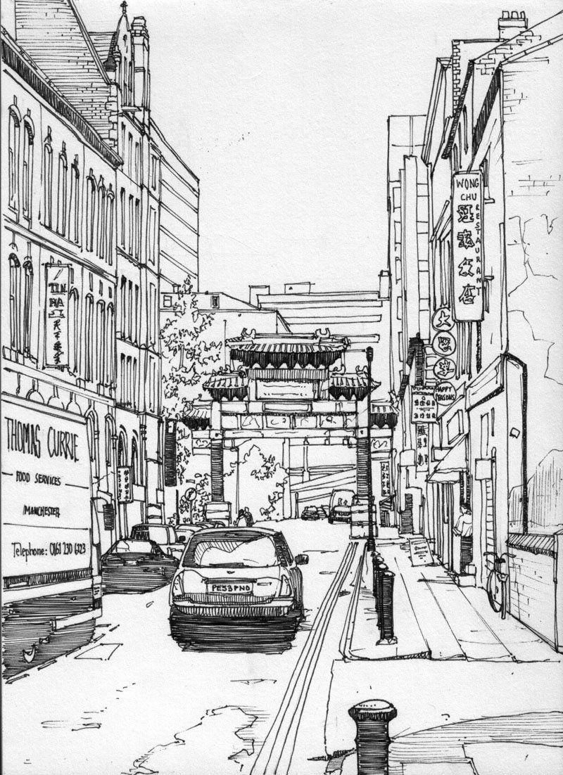 современным технологиям токио картинки города в карандаше овчарка крупная собака