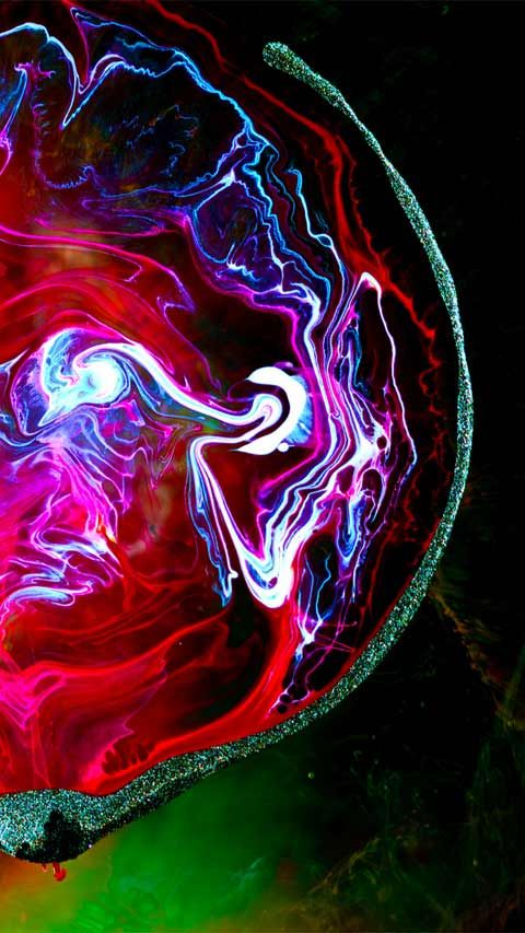 Electrifying Ink and Water Macro Photographs by Pery Burge