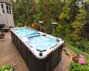 21' Marathon Dual Chamber Swim Spa by Catalina Swim Spas from Prestige Pools and Spas in St. Louis, MO.