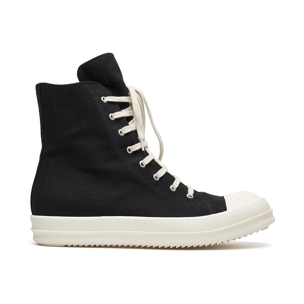 Sneakers from the F/W2016-17 Rick Owens DRKSHDW collection in black