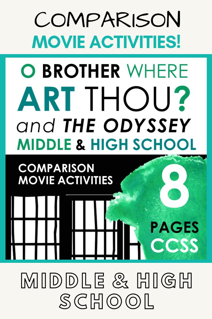 o brother where art thou odyssey
