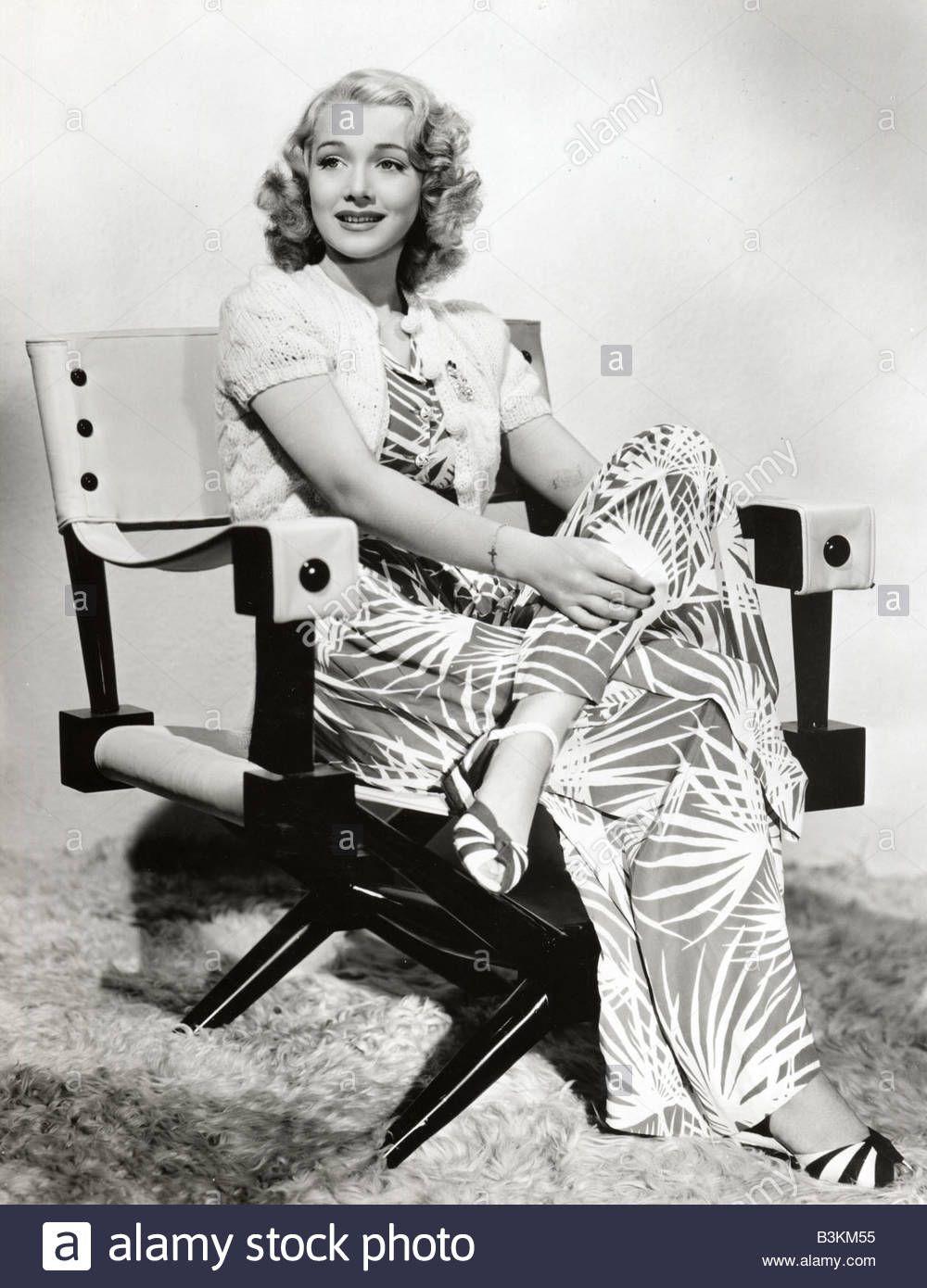 Download this stock image CAROLE LANDIS US film actress