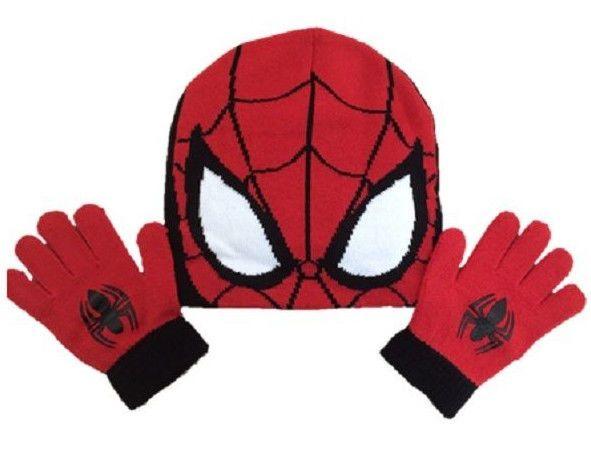 Marvel Spiderman Hat And Gloves Set