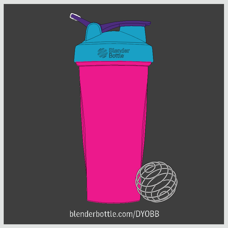 Design Your Own #BlenderBottle and enter to #Win $1000 at www.blenderbottle.com/dyobb