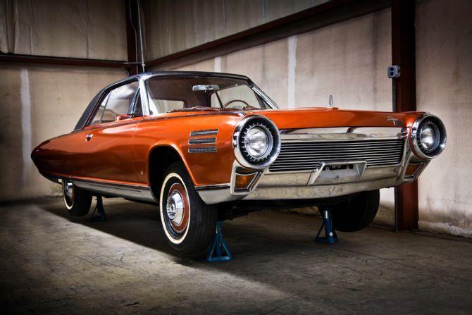 Wanna Drive My Car 1964 Chrysler Turbine Front Three Quarter 60s