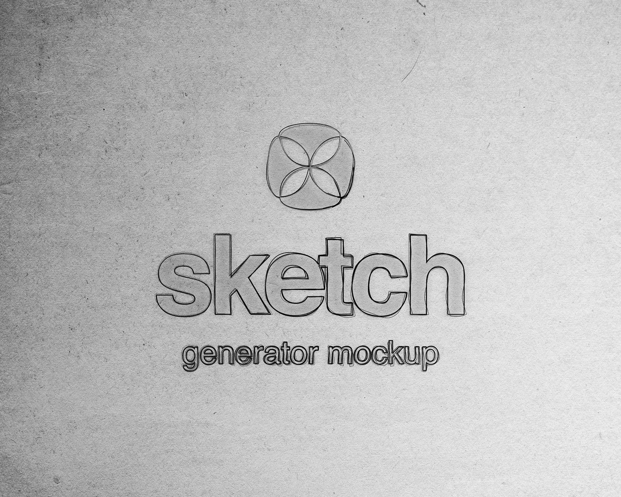 Free Sketch Generator Photoshop Mockup Psd Photoshop Mockup Photoshop Mockup