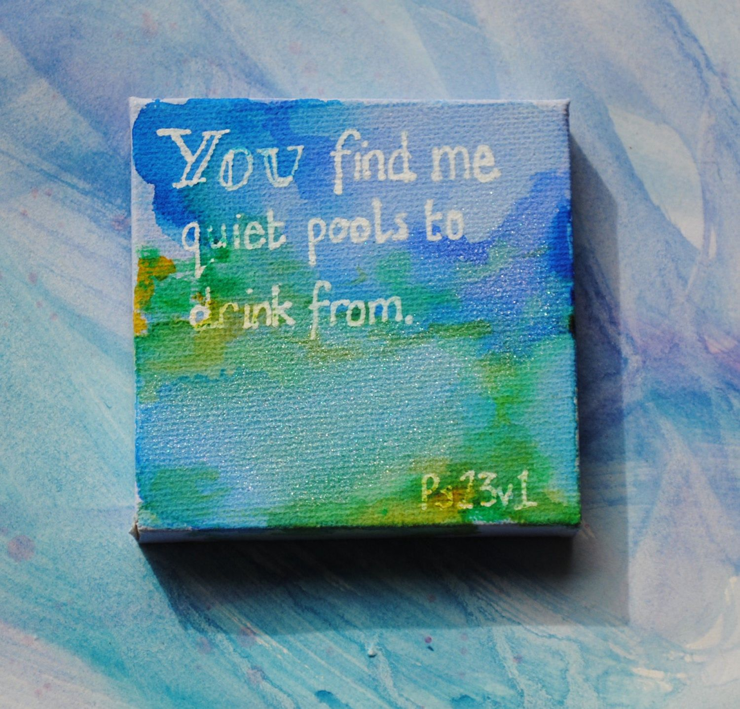 Unique painting on canvas christian art mixed media mini art unique painting on canvas christian art mixed media mini art gift religious negle Choice Image