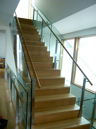 Interior Glass Railing System