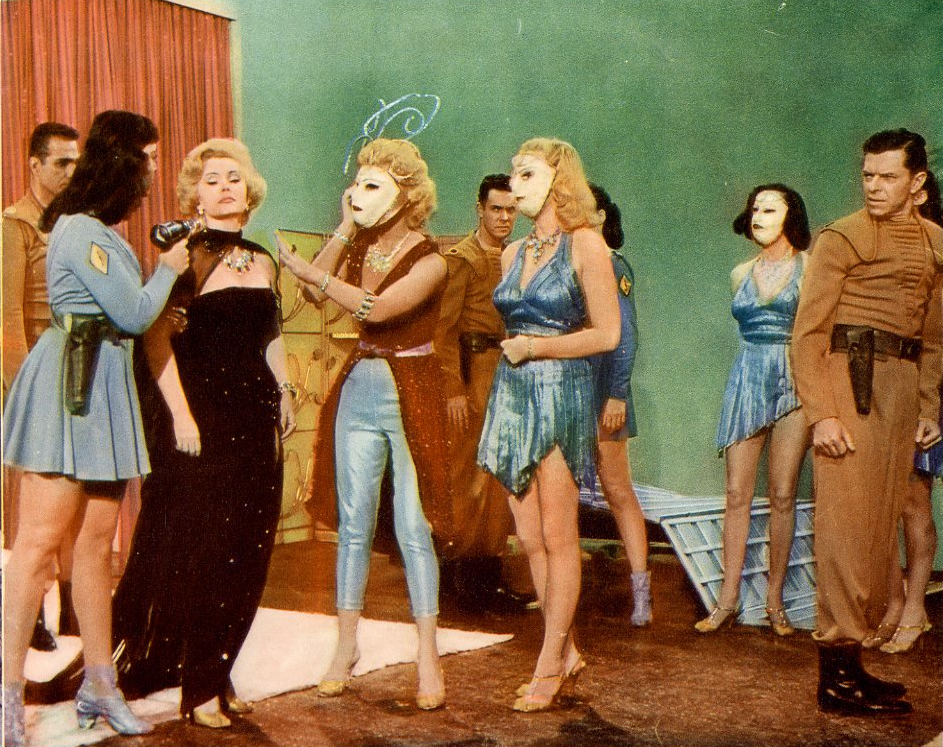 Queen of Outer Space, 1958. No - Don't dry her hair just yet!