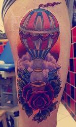 Tattoo - Hot air Balloon