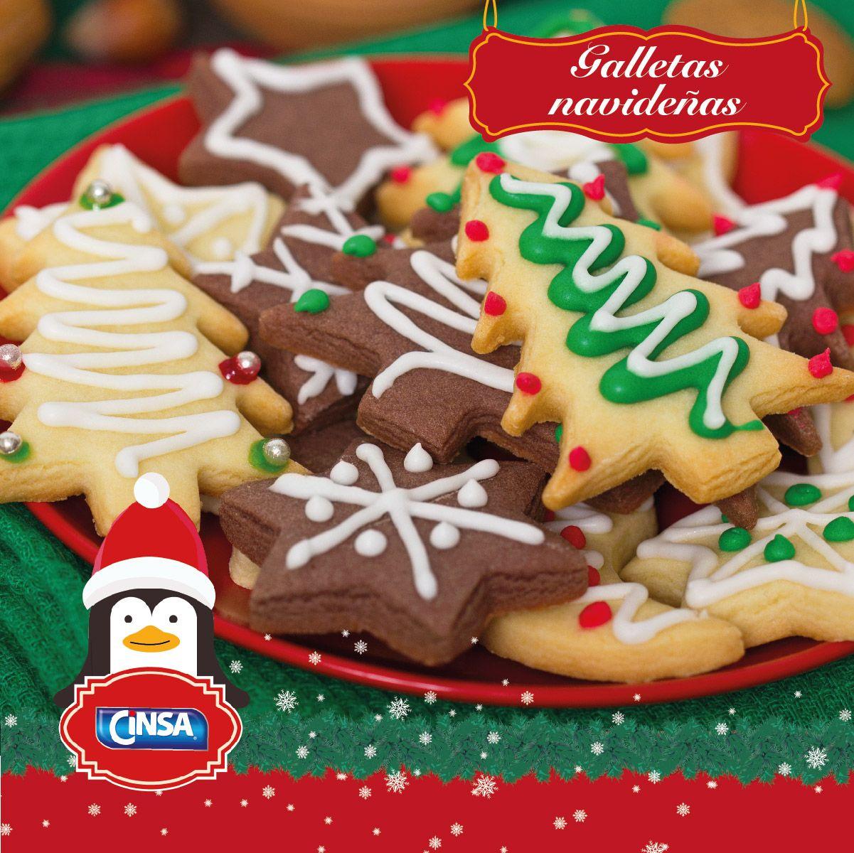 Cinsa Recetas Navidad Galletasnavideñas Recetasnavideñas Marcasmexicanas Galletas De Navidad Para Niños Recetas De Galletas De Navidad Dulces Navideños
