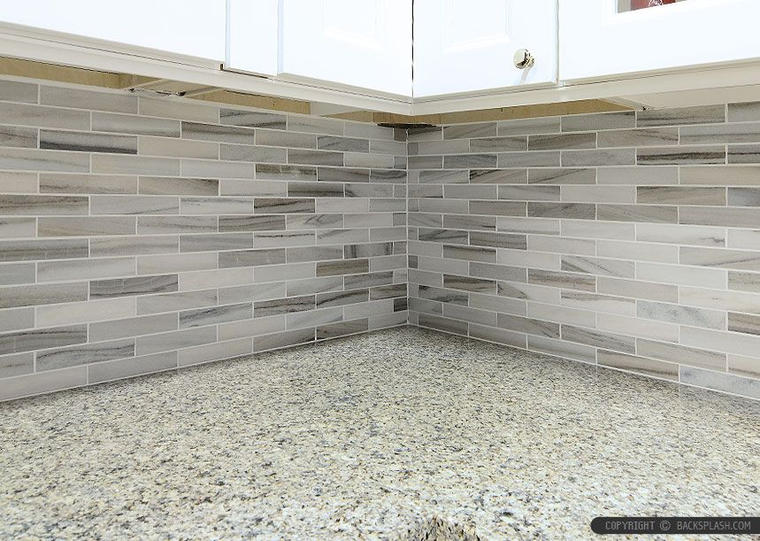 Best White Modern Subway Marble Mosaic Contemporary Design 400 x 300