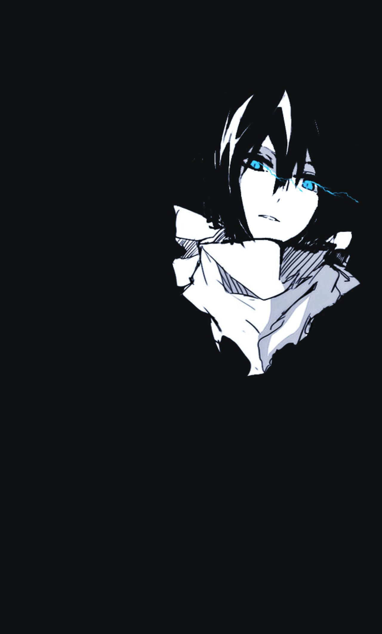 Anime Black Iphone Wallpaper Black Cat Anime Anime Wallpaper Phone Noragami Anime