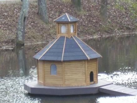 duck house | floating duck house - outdoor - 528 - rockler