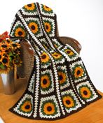 Crochet Sunflower Afghan