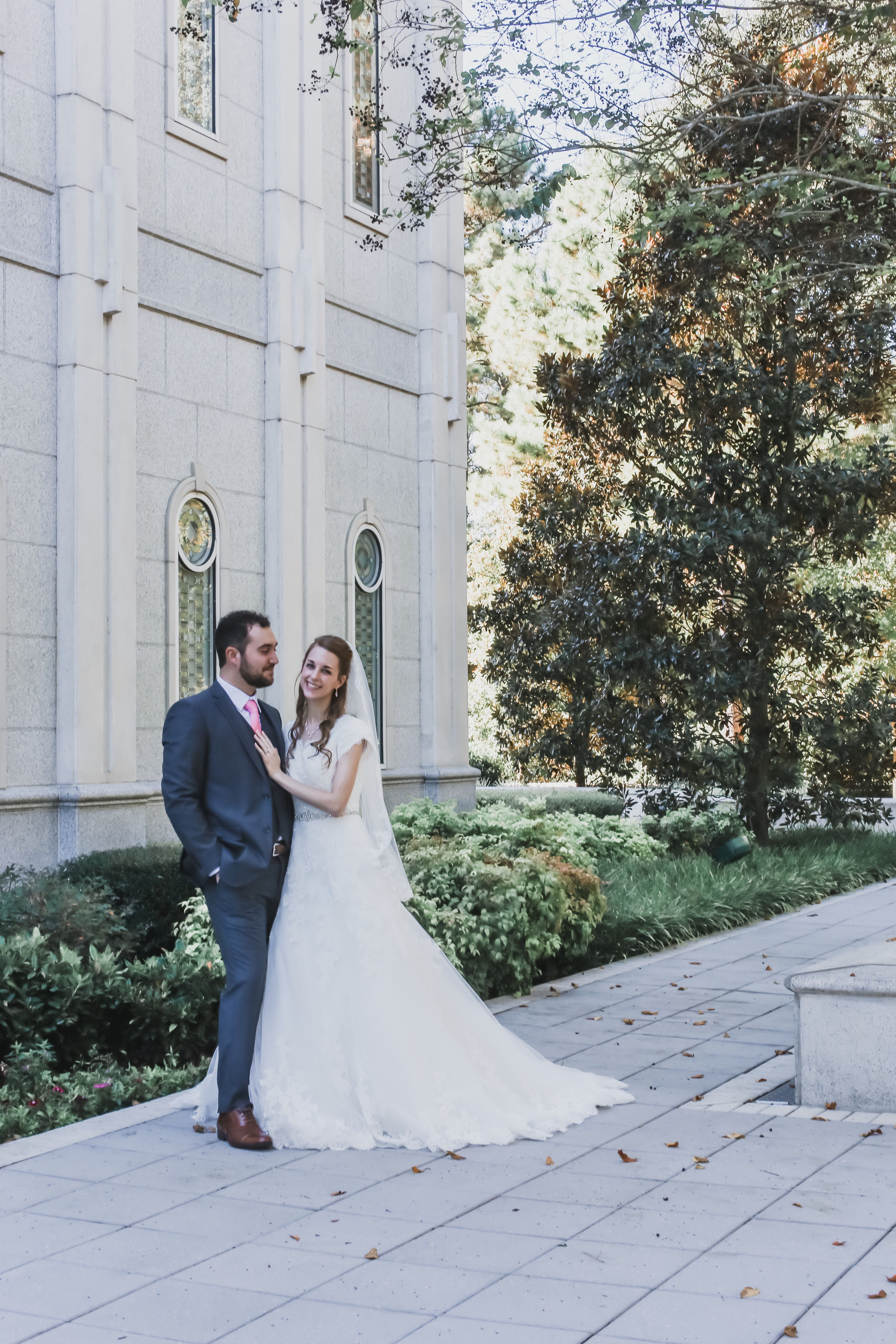 Fall Lds Wedding Lds Temples Wedding Temple Wedding Photography Lds Wedding