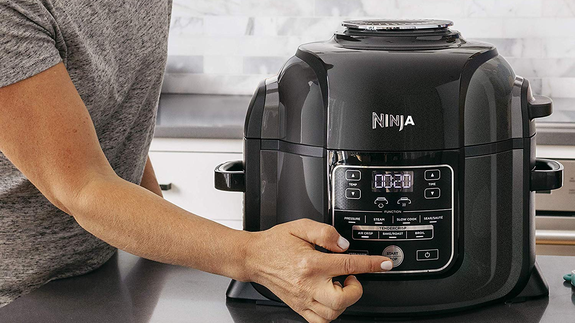 The Ninja Foodi Pressure Cooker And Air Fryer Is 50 Off At Amazon
