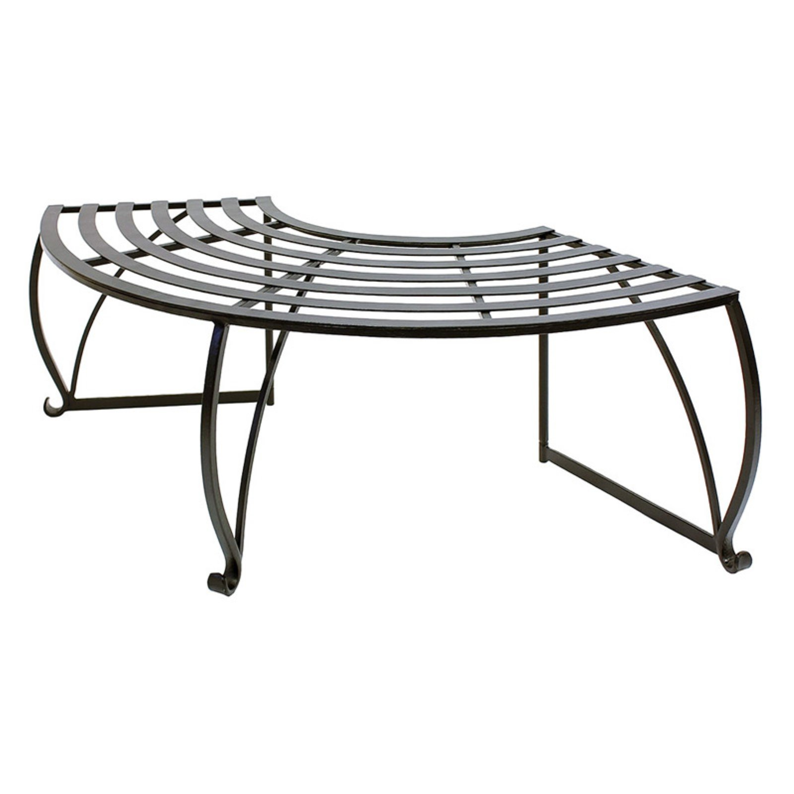 Outdoor Achla Designs Backless Lutyen Tree Bench Tree Bench