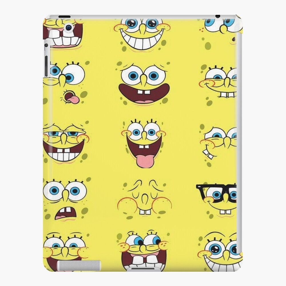 sponge bob iPad Case & Skin