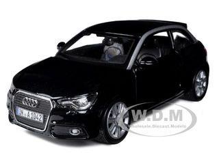 Scale Model Audi A1 Black 1 24 Diecast Car Model By Bburago