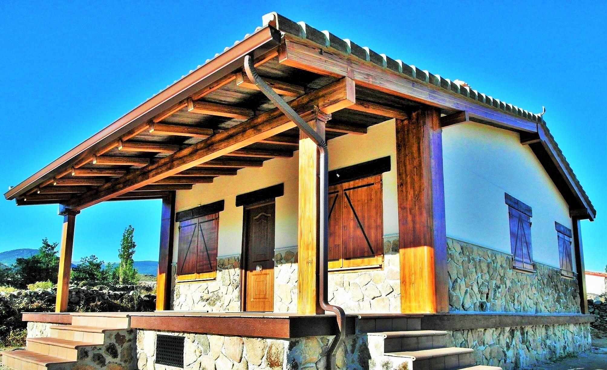 Casa prefabricada de hormigon prefabricada construida en la provincia de madrid vivienda 100m2 - Escuela de cocina madrid casa de campo ...
