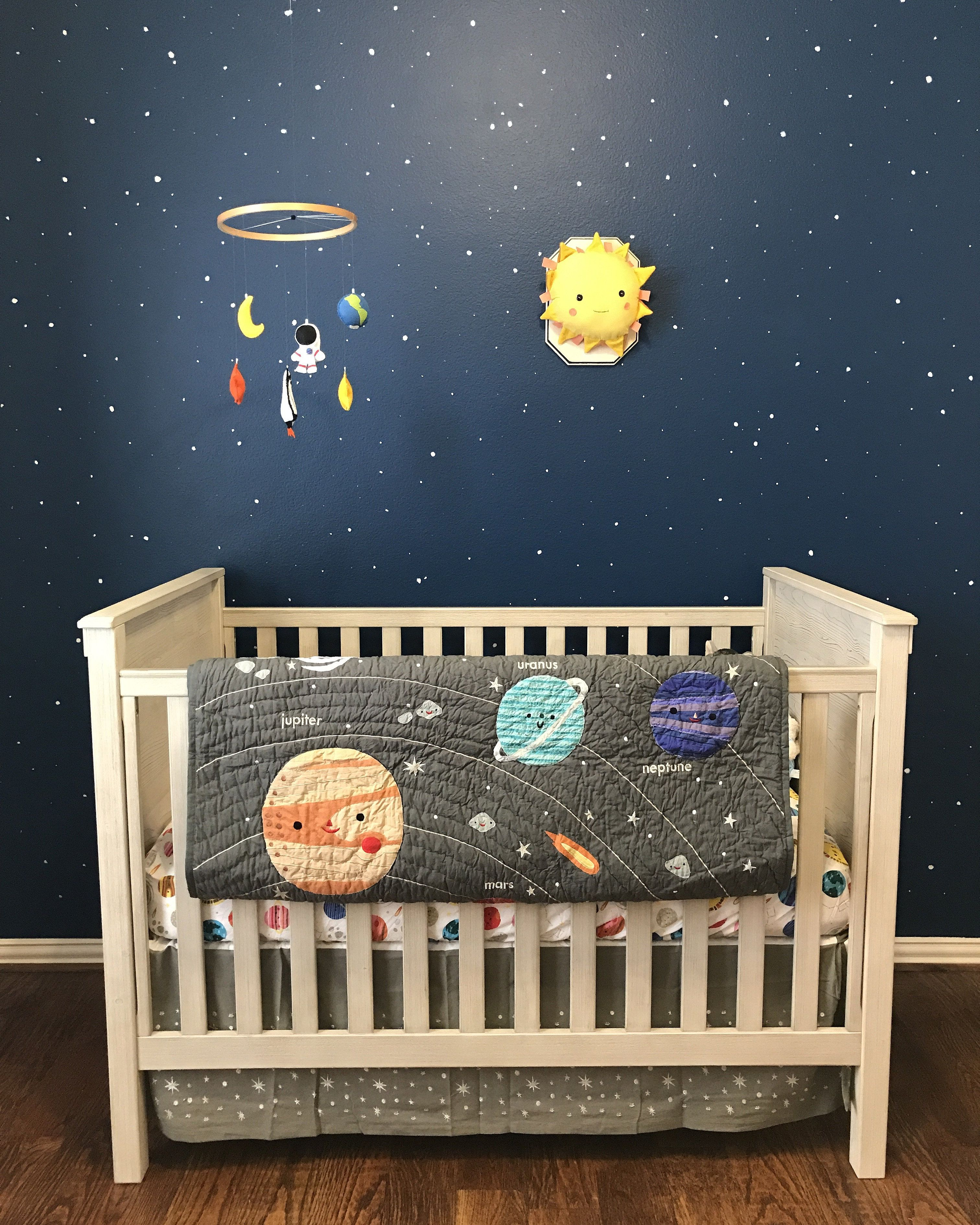 Space Advanture Baby Crib Mobile By Message From Outer Space