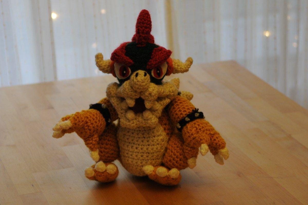 Bowser super mario amigurumi crochet pattern large size amigurumi bowser super mario amigurumi crochet pattern large size dt1010fo