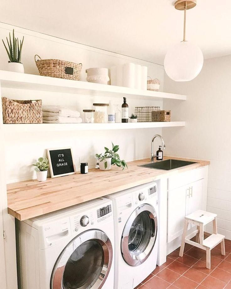 Photo of : 35 Amazingly Inspiring small laundry room design ideas For Small Spaces #laund…