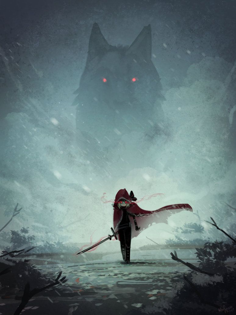Photo of Red Hood and the Wolf by Porforever on DeviantArt