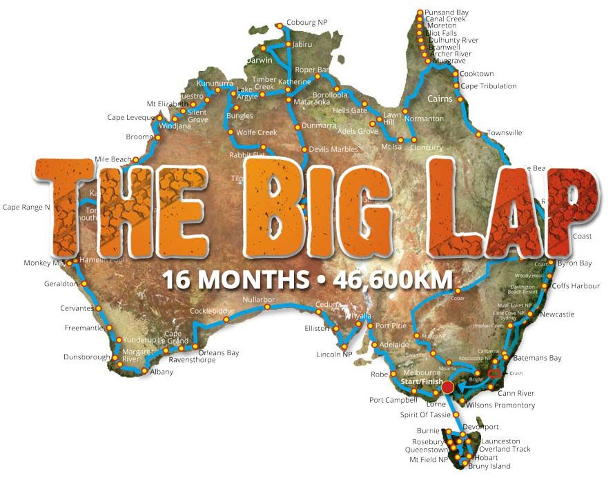 the big lap dvd series expedition australia camping in 2018