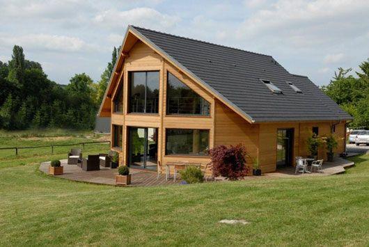 Maison demi-ronde 6 Pans Oriane - Surface au sol  jusquu0027à 140 m2 - plan maison demi sous sol