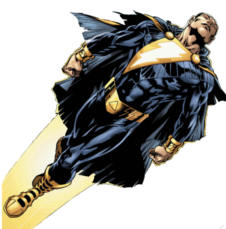 New 52 Black Adam Marvel MarvelCaptain