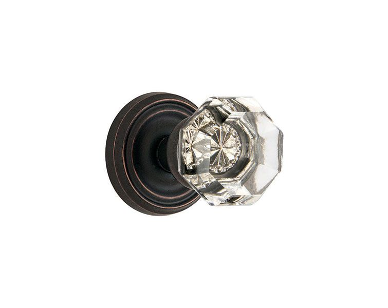 Old Town Clear Knob | interior door knobs with oil rubbed bronze ...