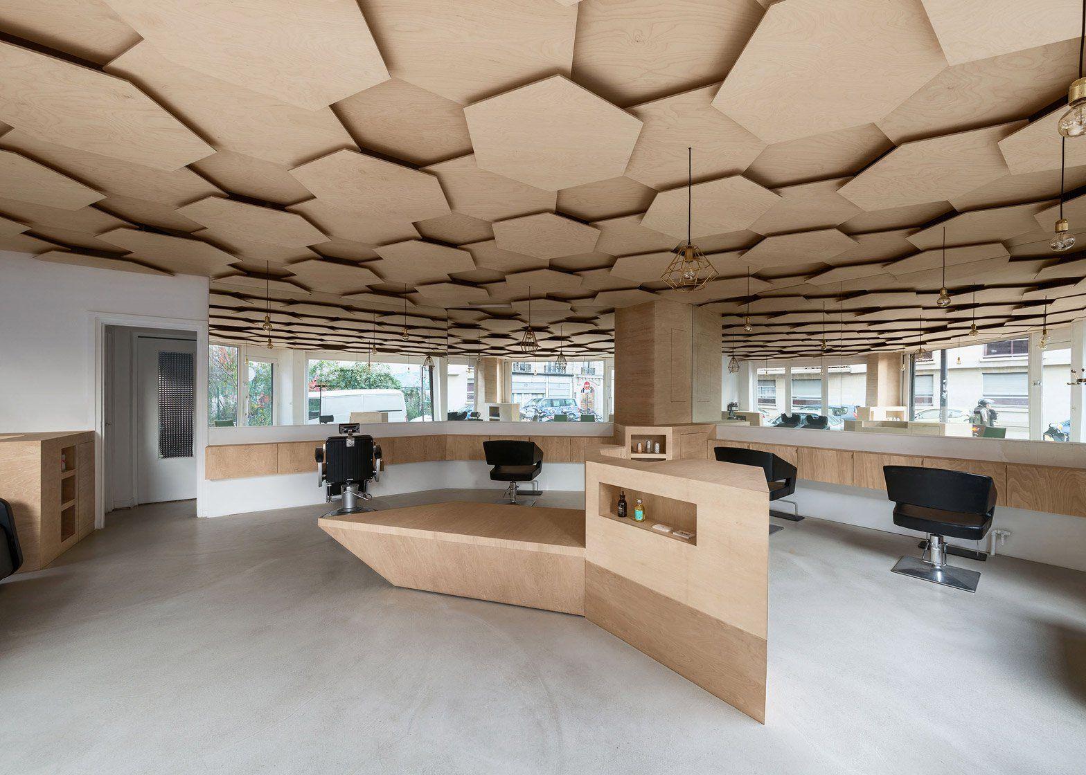 50+ Hexagon ceiling design ideas trends