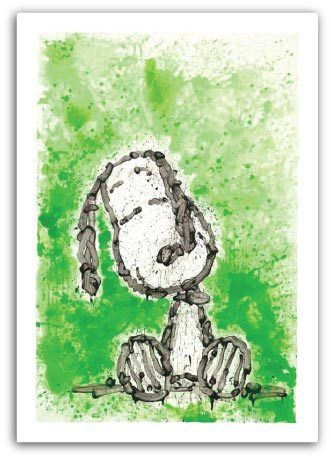 Tom Everhart Tom Everhart Limited Edition Mixed Media on Paper Gang Star Dreams