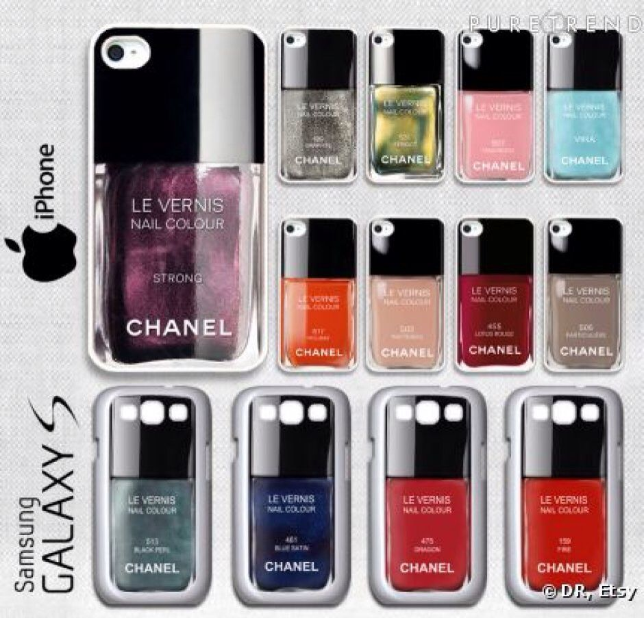Vernis Channel  Coque d'iPhone