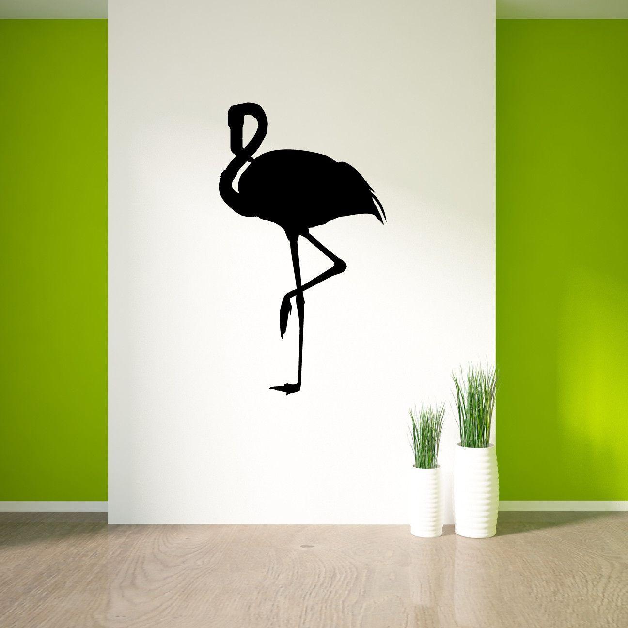 Flamingo Bird Wall Decal Sticker 78