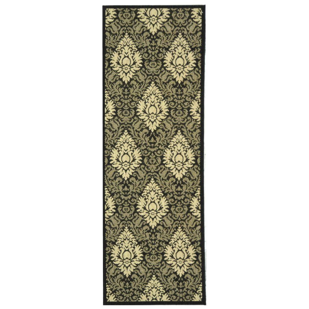 Safavieh Courtyard Chocolate Natural 7 Ft X 10 Ft Indoor Outdoor Rectangle Area Rug Cy2714 3409 6 Outdoor Rugs Indoor Outdoor Rugs Outdoor Runner Rug