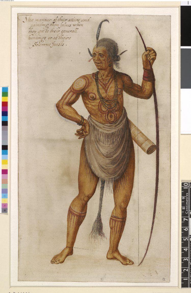 Early american indian john white native american