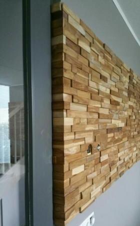 houten wandpanelen baja, deze xl houten wandbekleding van ...