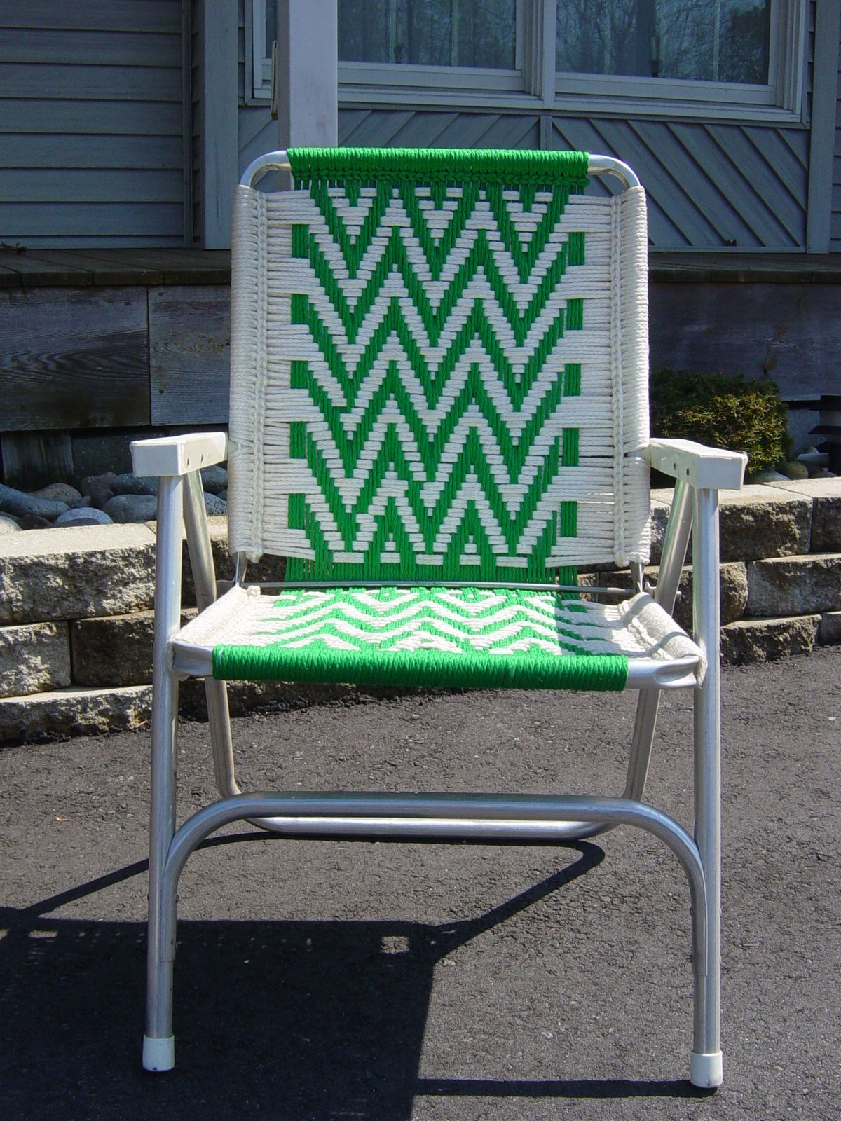 Woven Lawn Chair Awesome Woven Lawn Chair Sewing For Beginners Macrame Chairs