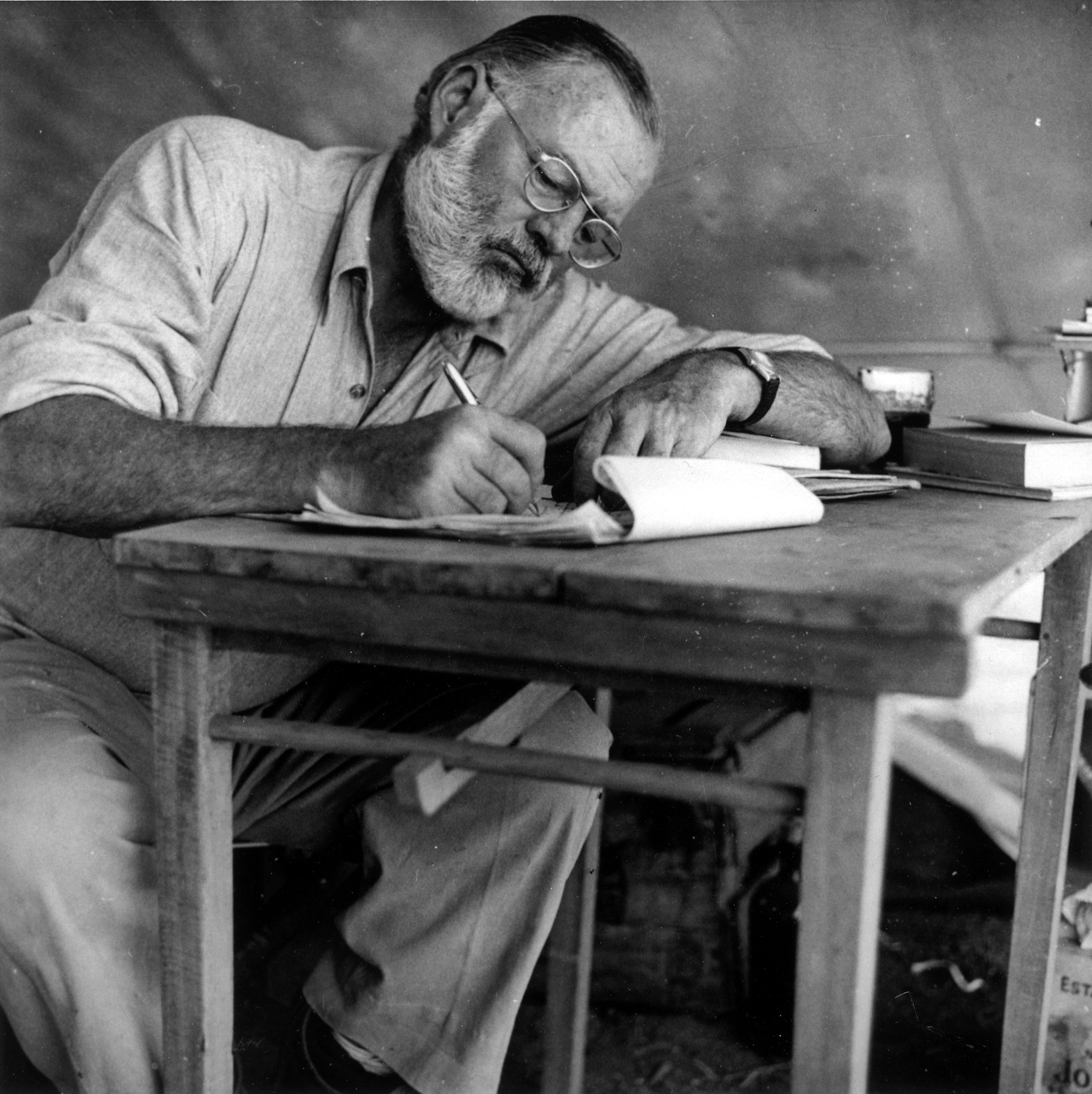 "Famous People That Start With D with ernest hemingway / his blunt nature: ""always do sober what you"
