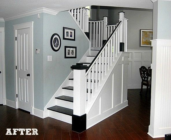 Back wall molding design for the foyer ?
