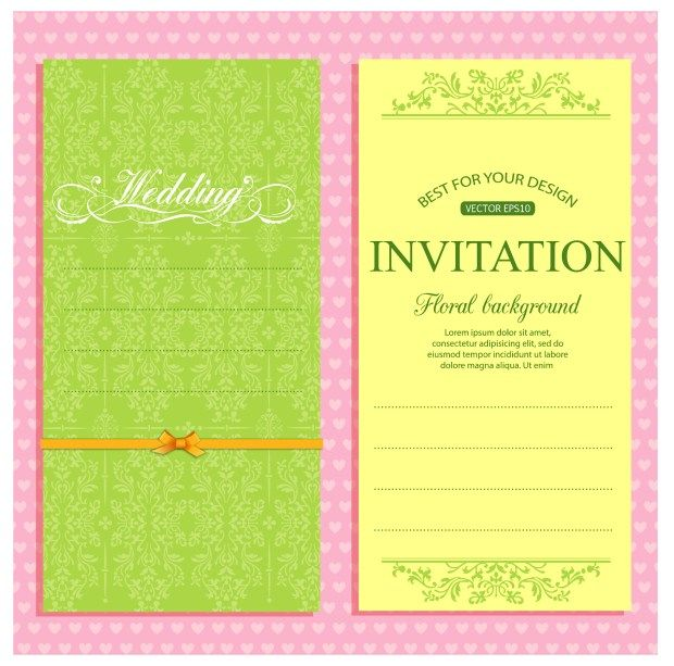 Wedding Party Invitation Marriage Invitation Card Format Invitation Card Format Marriage Invitation Card