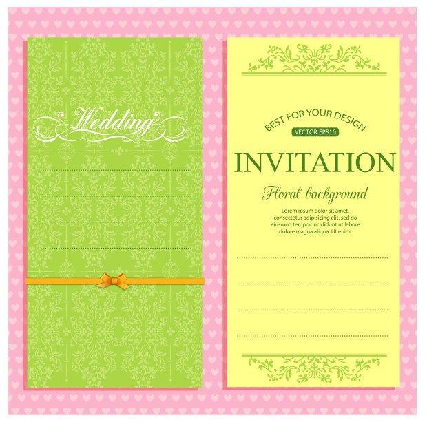 Wedding Party Invitation Invitation Card Format Marriage Invitation Card Format Marriage Invitation Card